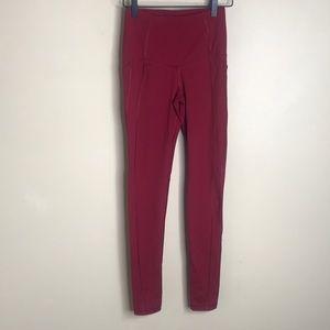 VSX sport red skinny leggings